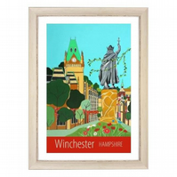 Winchester Hampshire white frame
