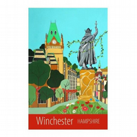 Winchester Hampshire - unframed