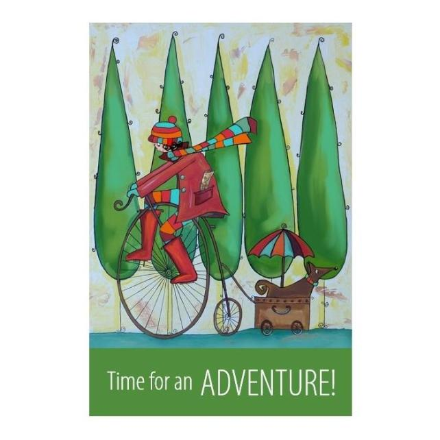 """Adventure"" print - unframed"