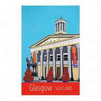 Glasgow print - unframed