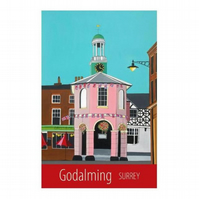 Godalming print - unframed