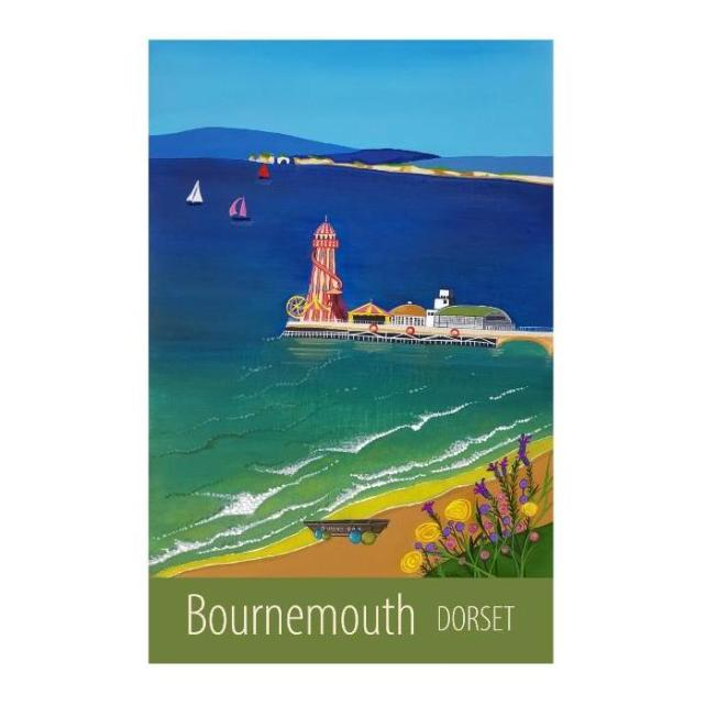 Bournemouth print - unframed