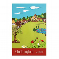 Chiddingfold print - unframed