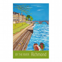 By The River, Richmond - unframed