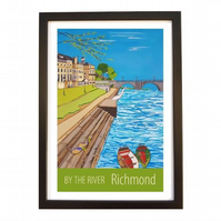 By The River, Richmond black frame