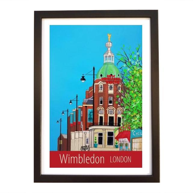 Wimbledon, London black frame