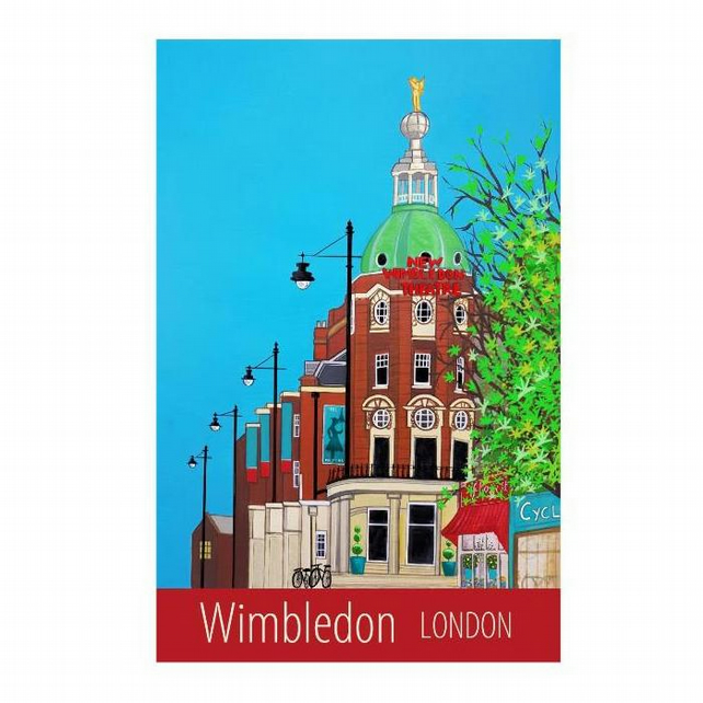 Wimbledon, London - unframed