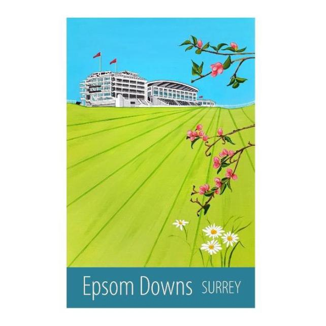 Epsom Downs - unframed