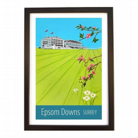 Epsom Downs, Surrey black frame