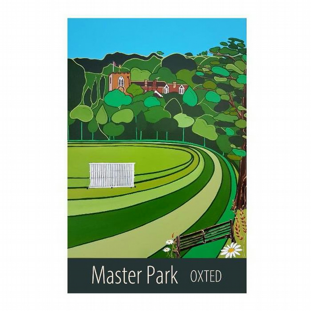 Master Park, Oxted unframed