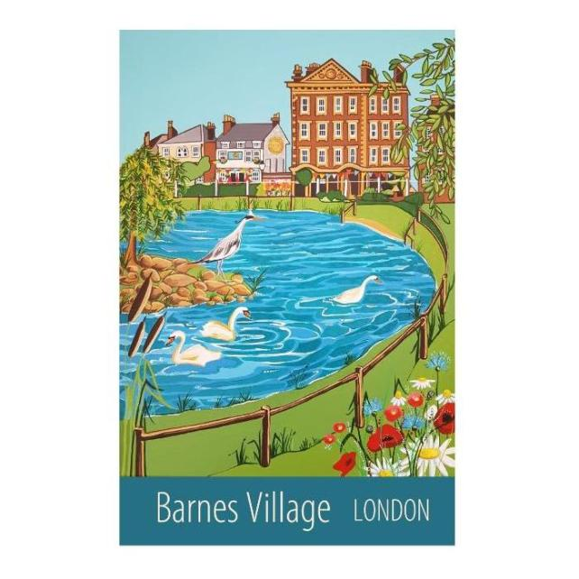 Barnes Village, London unframed