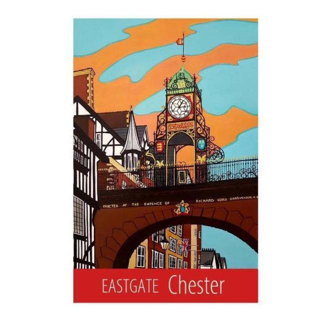 Chester Eastgate print - unframed