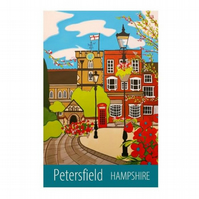 Petersfield Hampshire print - unframed