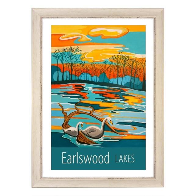 Earlswood Lakes - White frame