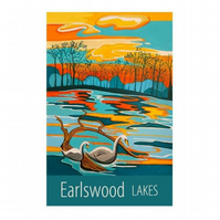 Earlswood Lakes - unframed