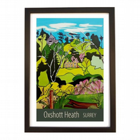 Oxshott Heath - Black frame
