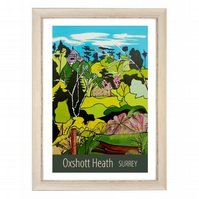 Oxshott Heath - White frame