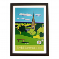 Redhill Common - Black frame