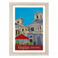 Kingston-upon-Thames - White frame