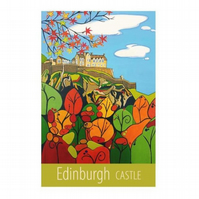 Edinburgh Castle - unframed