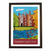 Hampton Court Palace - Black frame