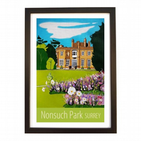 Nonsuch Park - Black frame