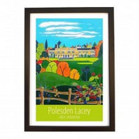 Polesden Lacey - Black frame