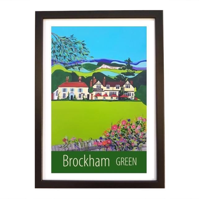 Brockham Green - Black frame