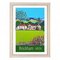 Brockham Green - White frame