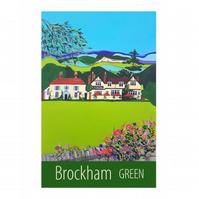 Brockham Green - unframed