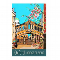 Oxford Bridge of Sighs - unframed
