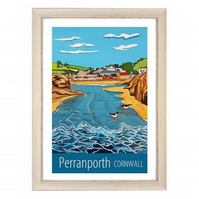 Perranporth - White frame