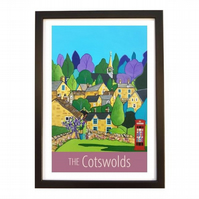 Cotswolds - Black frame