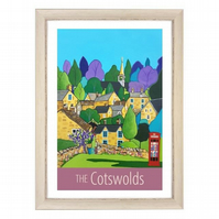 Cotswolds - White frame