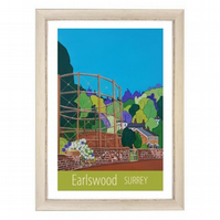 Earlswood - White frame
