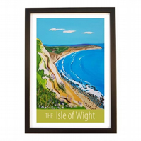 Isle of Wight - black frame