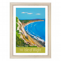 Isle of Wight - white frame