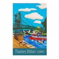 Thames Ditton - unframed