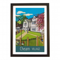 Cheam - black frame