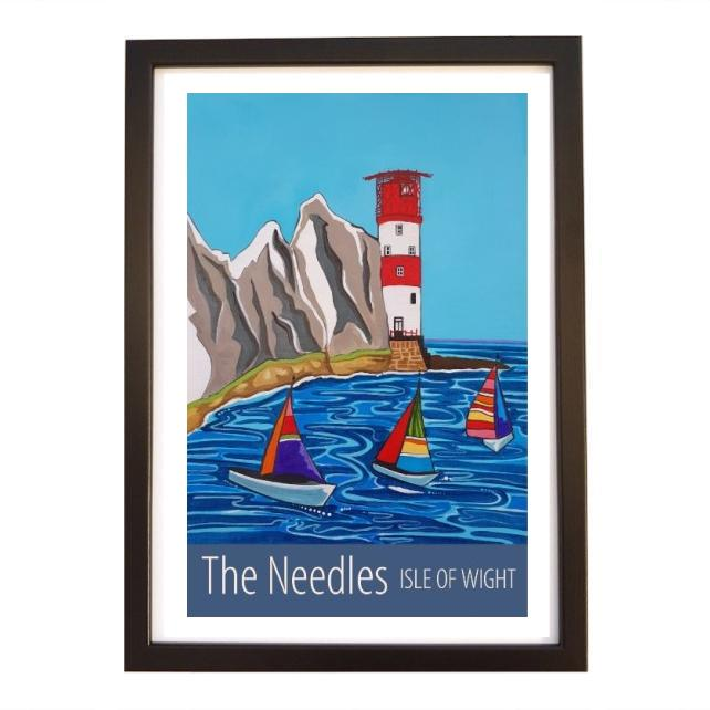 Needles - black frame