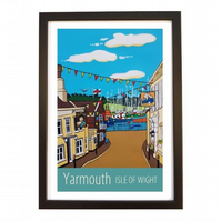 Yarmouth - black frame
