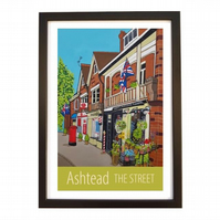 Ashtead The Street - black frame