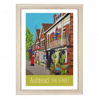 Ashtead The Street - white frame