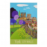 York City Walls - unframed