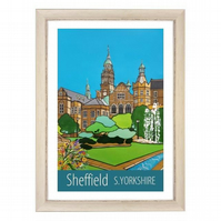 Sheffield - white frame