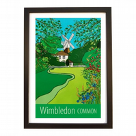 Wimbledon Common - black frame