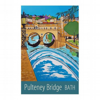 Bath Pulteney Bridge - unframed