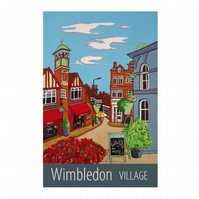 Wimbledon Village - unframed