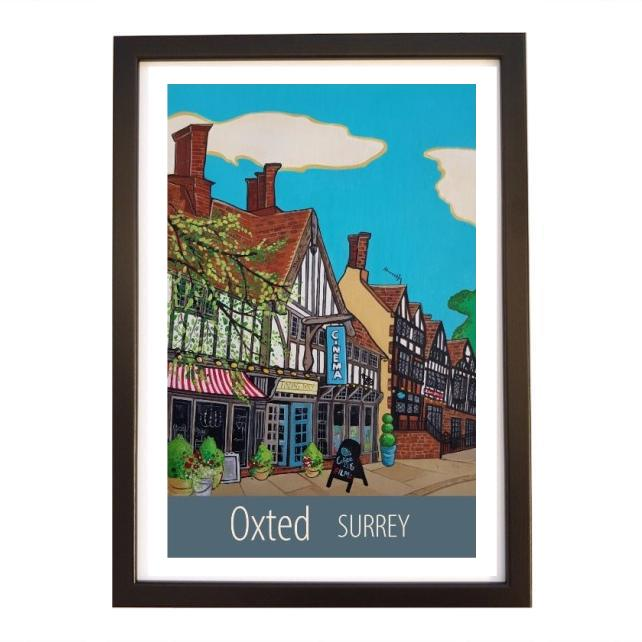 Oxted - black frame