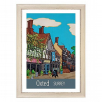 Oxted - white frame